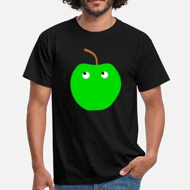 Apple Appleface Apple Apple Apple Apple Apple - Mannen T-shirt