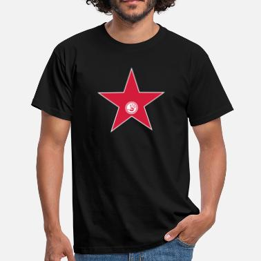 Stjärna walk of fame + your name - T-shirt herr