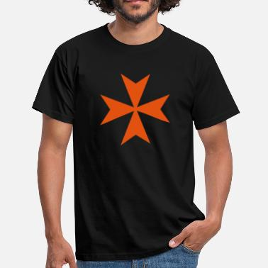 Maltese Cross Maltese Style Cross - Men's T-Shirt