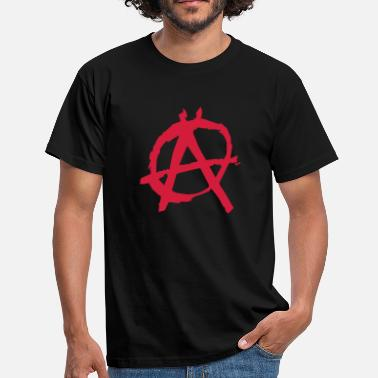 Anarchy anarchy - Mannen T-shirt