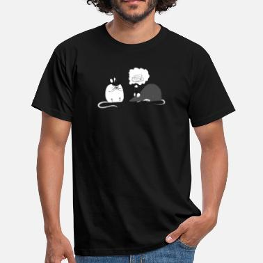 Greedy Greedy rats - Men's T-Shirt