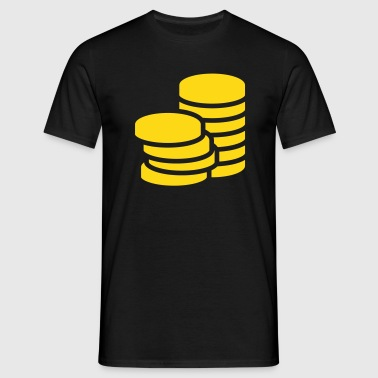 Gold Coins - Men's T-Shirt