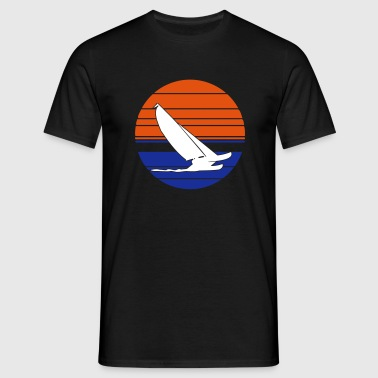 Cat Sailing 3C - Männer T-Shirt