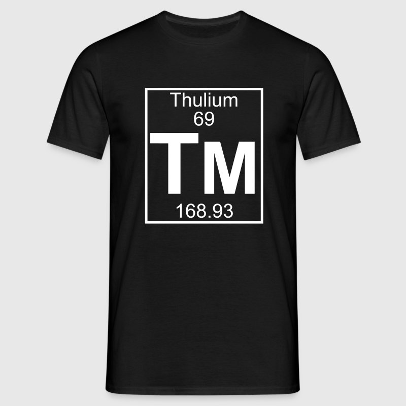 Element 069 - Tm (thulium) - Full - Camiseta hombre