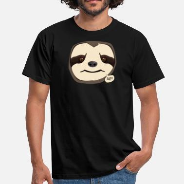 Unfriendly Unfriendly Sloth - Sup? - Men's T-Shirt