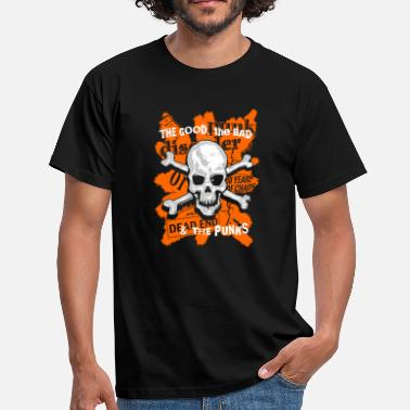 Skinheads the good, the bad & and the punks - Männer T-Shirt