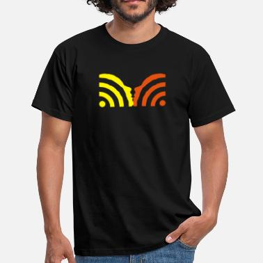 Web rss kiss - Männer T-Shirt