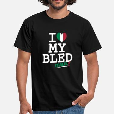 Italiani I love MY BLED Italie - Men's T-Shirt