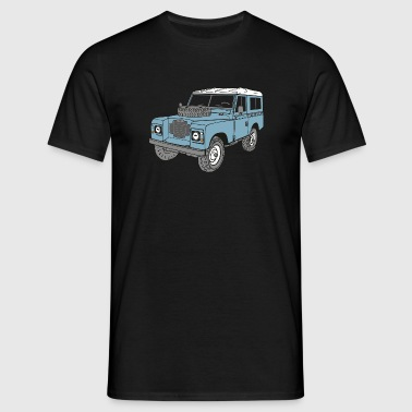 Land Rover Landie 4x4 Off Road Series 3 88 - Camiseta hombre