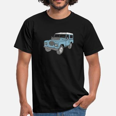 Land Land Rover Landie 4x4 Off Road Series 3 88 - Mannen T-shirt