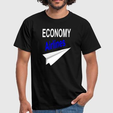 Airline airlines - Men's T-Shirt