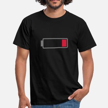 Low Battery Battery low - Men's T-Shirt