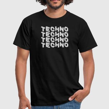 TECHNO SHIRT / CLUBWEAR - Men's T-Shirt