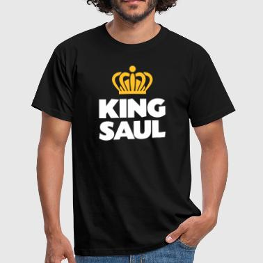 Saul King saul name thing crown - Men's T-Shirt
