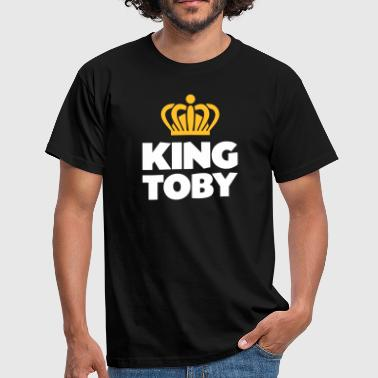 King toby name thing crown - Men's T-Shirt