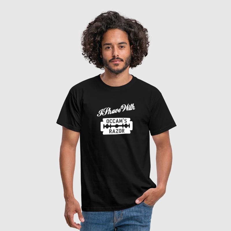 I Shave With Occam's Razor 2 - Männer T-Shirt