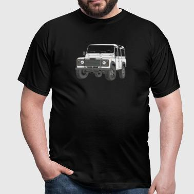 4x4 Defender 110 Adventure - Männer T-Shirt