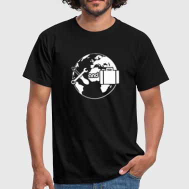 Work and Travel - Männer T-Shirt