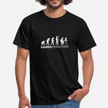 Dator evolution_born_gamer - T-shirt herr