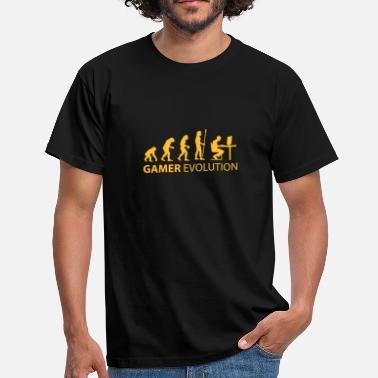 Owned gamer evolution - T-shirt Homme