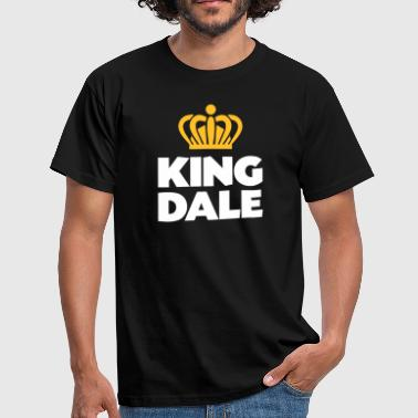 King dale name thing crown - Men's T-Shirt