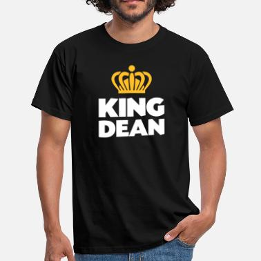 Dean King dean name thing crown - Men's T-Shirt