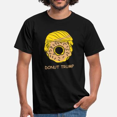 Funny Graphic Design Donut Trump Funny graphic - Men's T-Shirt