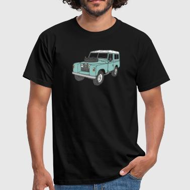 Landie 4x4 Off-Road Series 2 88 Classic - Mannen T-shirt