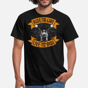 Gadoue Live to Ride - T-shirt Homme