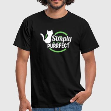 Simply PURRFECT - Men's T-Shirt