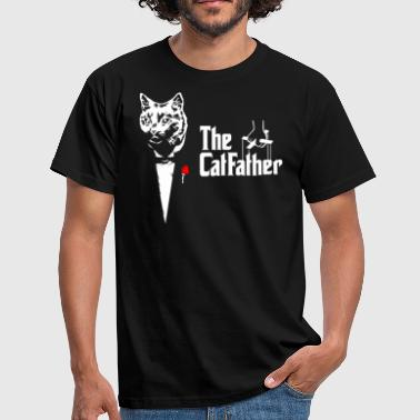 Cat Father The Catfather Cat Dad Dad Dad - Men's T-Shirt