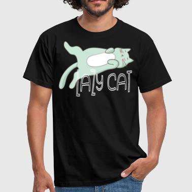 Lazy Cat - Lazy Cat - Men's T-Shirt