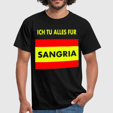 Sangria Sangria Spain - Men's T-Shirt