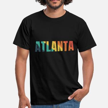 Atlanta Ville d'Atlanta ville d'Atlanta - T-shirt Homme