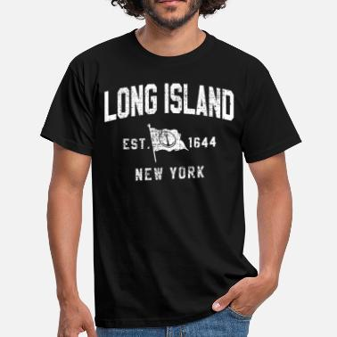 Hudson LONG ISLAND NEW YORK - Men's T-Shirt