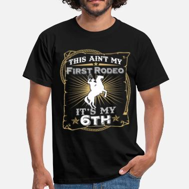 Clowns This Ain't My First Rodeo It's My 6th Birthday - Men's T-Shirt