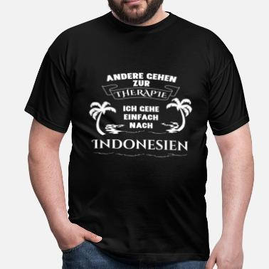 Indonesie Indonesië - therapie - vakantie - Mannen T-shirt
