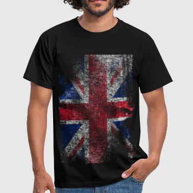 union jack - used look - Camiseta hombre