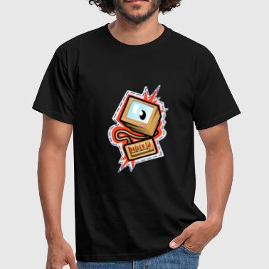 Computerwelt Computer PC Gamer Designs - Männer T-Shirt