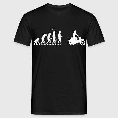 Evolution Simson Schwalbe - Men's T-Shirt