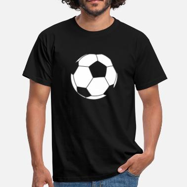 Football Outline Football Outline  - Men's T-Shirt