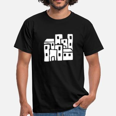 Town Planning 8 houses  - Men's T-Shirt