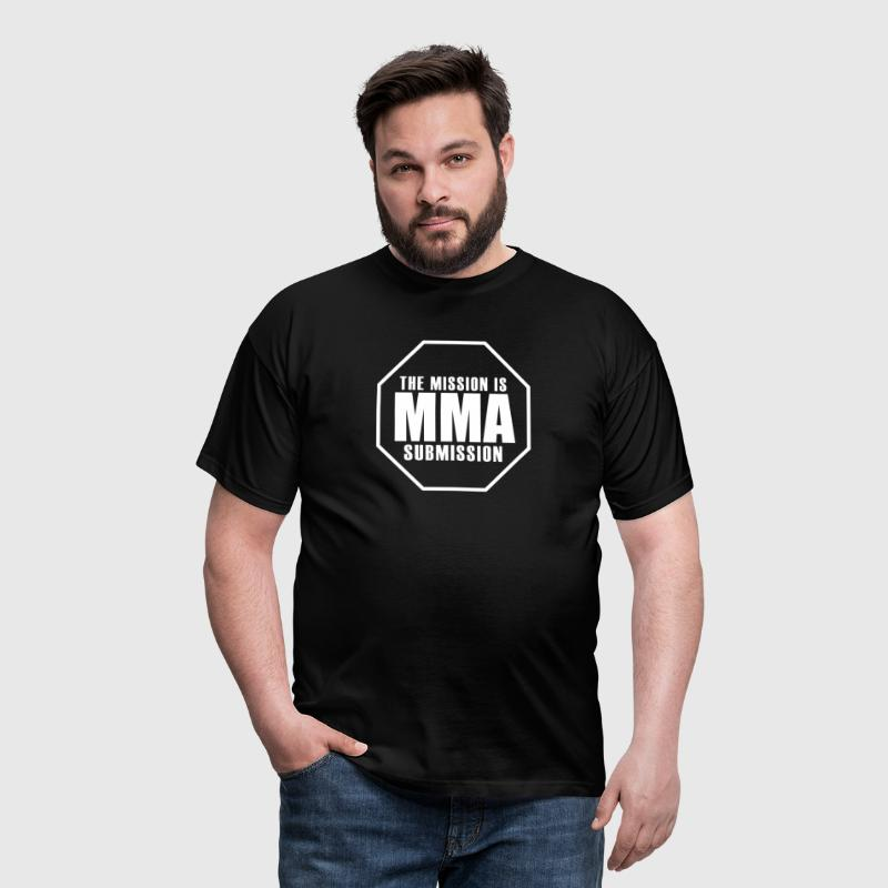 MMA - the Mission is Submission - Men's T-Shirt