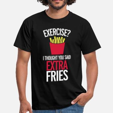 French Fries Extra Fries - Men's T-Shirt