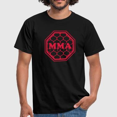 MMA - Mixed Martial Arts - Octagon - Men's T-Shirt