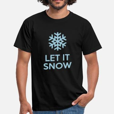 Let Let It Snow - Herre-T-shirt