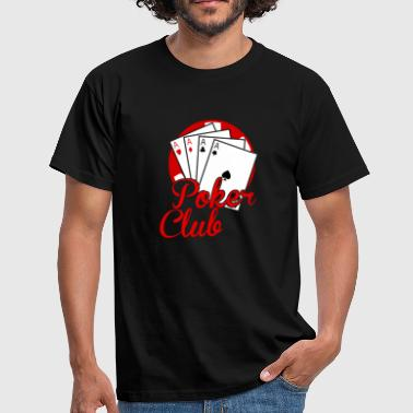 Clubber poker club - T-shirt Homme