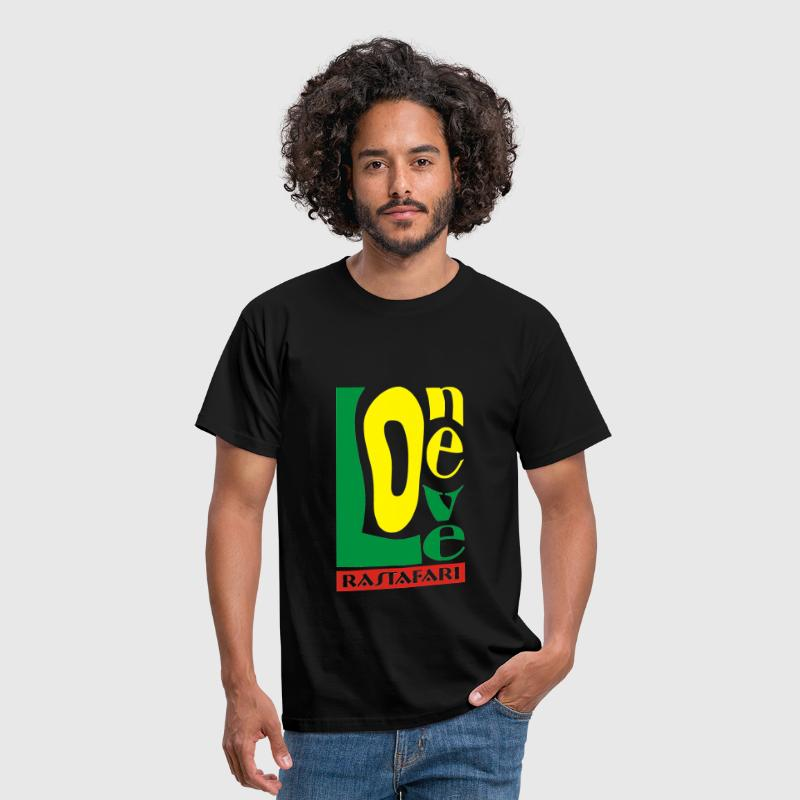 One Love Quadri - T-shirt Homme