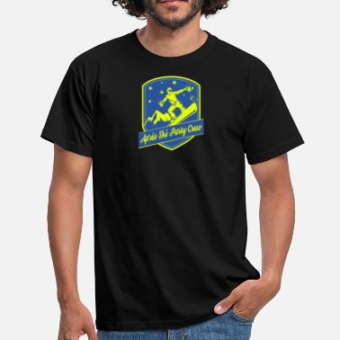 Apps Apps Ski Party Crew - Männer T-Shirt