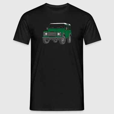 Offroad Defender Land Rover 110 4x4 - Camiseta hombre